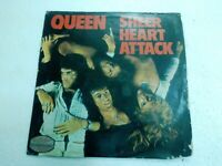 QUEEN SHEER HEART ATTACK RARE INDIA unique/different back sleeve/cover LP VG++
