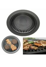 Stovetop Grill Indoor Smokeless Outdoor Kitchen Top For Stove Pan Gas Korean Bbq