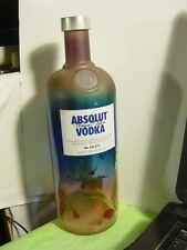 ABSOLUT VODKA UNIQUE EDITION #150374 BOTTLE 1L ''NO ALCOHOL''