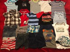 1520a3026 Clothing Mixed Items   Lots Size 12 Months for Boys