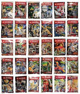 Original LEGO Ninjago Limited Edition Polybag Minifigure Set - Pick yours!