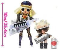 LoL Surprise OMG FAME QUEEN + GAGA SUPER REMIX CANDYLICIOUS SNOWLICIOUS CRYSTAL