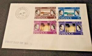 Barbados 1975 Royal Visit First Day Cover