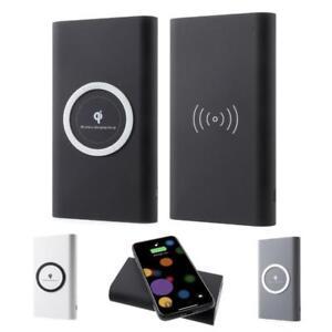 Qi Powerbank Wireless USB Ladegerät Akku tragbar externer Charger kabellos