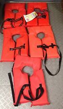 Lot of 5 Near Shore Buoayant Vests Type II PFD Adult Universal Size 30-52""