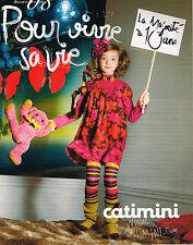 PUBLICITE ADVERTISING 045  2008   CATIMINI   vetements enfants