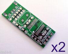Lot de 2 plaques PCB USB / RS232 TTL PL2303- 2x converter module board PCB plate