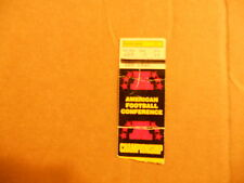 Jan 1980 Steelers American Football Conference Championship Ticket Stub