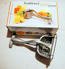 XMAS GIFT? NEW IN BOX: LAKELAND LTD TRADITIONAL QUICK JUICER WITH LEVER-ARM
