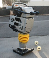 4.4Hp 149cc Dirt Soil Tamper Jumping Jumper Jack Ramp Compactor 15600N Force