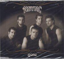 NSYNC - Gone - JUSTIN TIMBERLAKE CDs SINGLE 2001 SIGILLATO SEALED