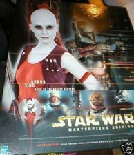 STAR WARS AURRA SING 12 INCH COLLECTORS FIGURE + BOOK