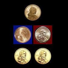 2012 P+D+S Native American Sacagawea Mint Proof Set ~ PD from Mint Set & Rolls