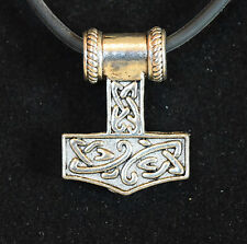 Thor's Hammer Amulet Nordic Viking Norse Odin Celtic