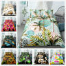 3D Tropical Print Bedding Set Duvet Cover Pillowcase Comforter Cover Quilt Cover