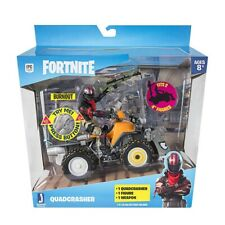 Jazwares 100% Official - Fortnite Quadcrasher Vehicle with Burnout - NEW