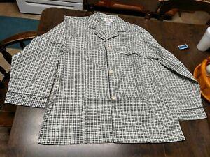 NWOT Fruit Of The Loom Light Green Designed Pajamas Size Men's L