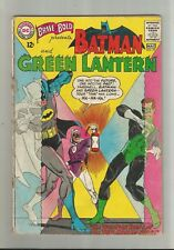 Brave and the Bold #59 SILVER AGE DC COMIC BOOK 1st Batman team-up Green Lantern