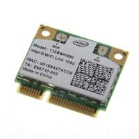 Intel Centrino Wireless-N 1000 112BNHMW Half-Mini PCI-E WIFI WLAN Card TESTED