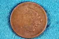 ESTATE FIND 1839  CORONET HEAD Large Cent!! #G3598