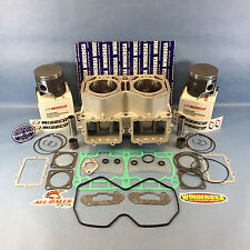 REPLATED SKI-DOO 800R CYLINDER KIT WISECO PISTONS 07-09 SUMMIT 800 R GSX PTEK