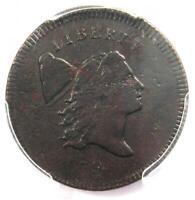 1795 Liberty Cap Flowing Hair Half Cent 1/2C - PCGS XF Detail - Rare Coin!
