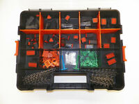 358 PC BLACK OEM DEUTSCH DT CONNECTOR KIT STAMPED CONTACTS + REMOVAL TOOLS