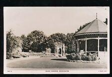 Somerset BRIDGWATER Blake Gardens & Bandstand 1955 RP PPC by Tuck