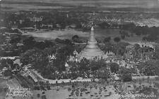 Burma Myanmar Aerial views Shwe Dagon Pagoda Rangoon Postcard