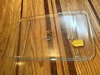 OEM Whirlpool Maytag Jenn-Air Microwave GLASS COOKING TRAY W10289909 Nice Shape!