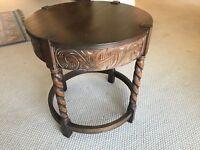 Antique Karpen Round Table