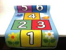 "Melisa & Doug, Hopscotch Game Rug, Hop and Count, 7.5 ft x 2ft, 2""."