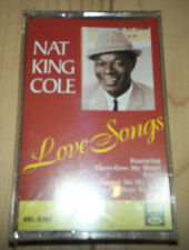 Nat King Cole - Love Songs 1992 Cassette - SEALED
