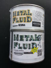 Prochima resina Metal Fluid metalfluid  metallo bianco rame bronzo ottone 1Kg