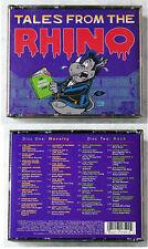 TALES FROM RHINO Ravers, Weirdos, Wild Man Fischer, NRBQ,... 44 Track 2-CD-Box