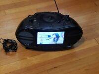 GPX Karaoke Machine DVD CD STEREO BD717B Boombox