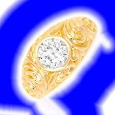 Echtschmuck aus Rotgold mit VS Reinheit Ringe