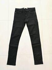 Women's Zara black denim jeans, skinny, size EUR 38 (USA 6), waist 30