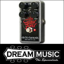 Electro Harmonix EHX Bass Soul Food Transparent Boost Overdrive FX Pedal RRP$229