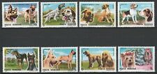 Romania 1990 Animals, Pets, Dogs, 8 MNH stamps