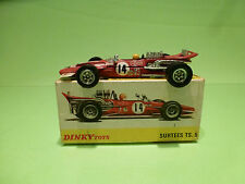 DINKY TOYS 1433 SURTEES TS 5 TS5  -  F1 RED 1:43 - VERY GOOD CONDITION IN BOX
