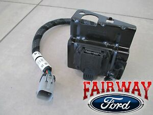 99 thru 01 F250 F350 Super Duty Ford 4 & 7 Pin Trailer Tow Wiring Harness Plug