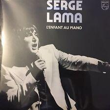 Vinyl 33T/LP/LP-Serge Lama - l'enfant au piano