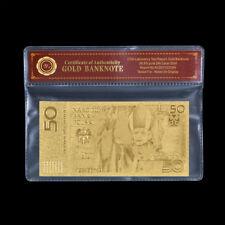 WR Polen 50 Zloty Gold Banknote 2006 Papst JOHANNES PAUL II. Gedenkgeldschein