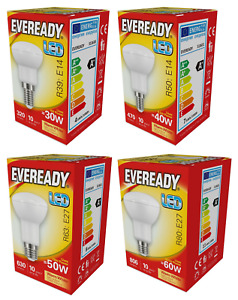 Eveready LED Spot Reflector R39 R50 R63 R80 - Warm White 3000k - E14 / E27 240v