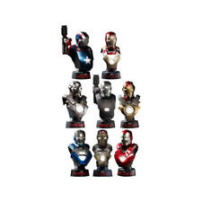 Hot Toys Iron Man Coll Bust Deluxe set busto