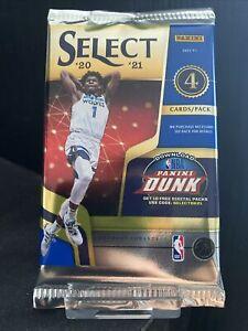 2020-21 Panini Select Basketball NBA Blaster Box Packs 2021 - 4 Cards SEALED UK