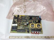 Medar 494-7, 494-7A  Firing Circuit Control Board. Bag Marked OK 8-28-89.   USED
