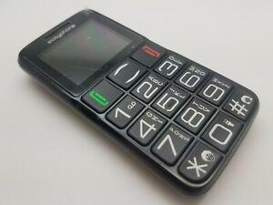 VGC Easyphone EL5860 Black (Unlocked) Mobile Phone SOS Big Button Elderly Loud
