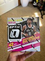 2019-20 PANINI DONRUSS OPTIC NBA BASKETBALL MEGA BOX WALMART PINK ZION RC PRIZM